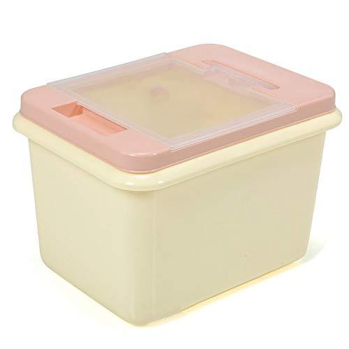 YWSZJ Arroz Caja de Almacenamiento Sellado a Prueba de Humedad del Grano de Gran Capacidad Harina tirón Recipiente de Cocina de arroz Sello Doble Caja de Almacenamiento (Color : C)