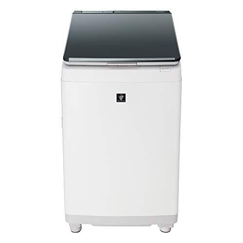 シャープ SHARP 洗濯機 洗濯乾燥機 ガラストップ 穴なし槽 インバーター 11kg シルバー系 プラズマクラスター ES-PW11D-S