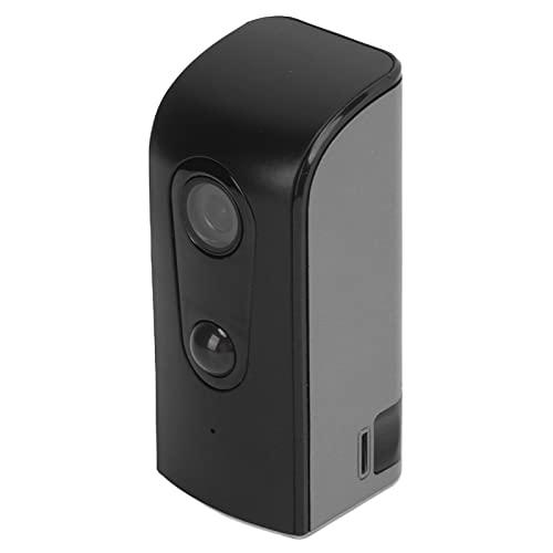 Telecamera WiFi 1080P Telecamera di monitoraggio di sicurezza da esterno per interni Funzione di allarme APP / 110 ° Angolo...
