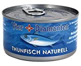 6x Vier Diamanten - Thunfisch Naturell - 195g