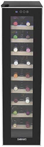 Cuisinart CWC-1800TS 18-Bottle Private Reserve Cellar, Black Wine Refrigerator