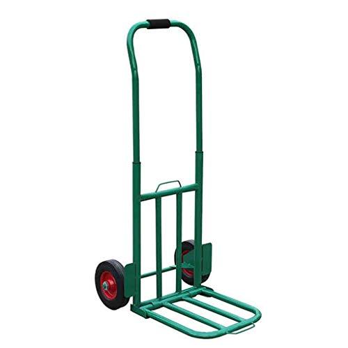 ZHI-Trolley Grande Carrello Pieghevole, Piccolo Carrello di carico del rimorchio Carrello di Merci Dimensioni 52 * 27 * 80CM (Dimensioni : 52 * 27 * 80CM)