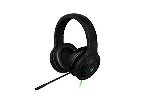 Razer Kraken USB Over Ear PC and Music Headset - Black-(Renewed) [Windows 7]