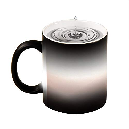Magic Mug Heat Sensitive Pastel Sky at Loughrigg Fell Funny Color Changing Coffee Mug Cup,11 OZ