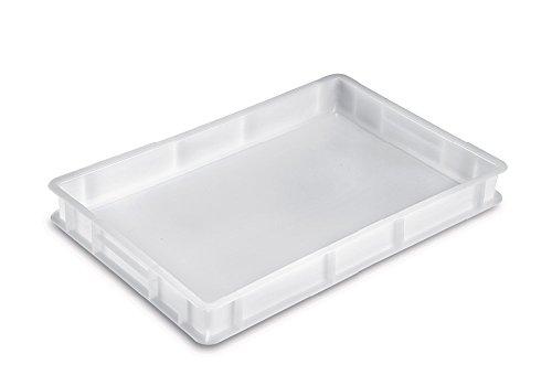 Giganplast 'Caja portaimpasto Pan Pizza Mod.Service cm.60x 40x 7Blanca