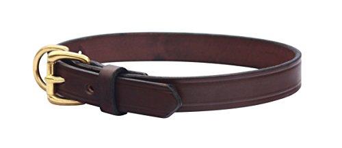 amish handmade leather dog collars