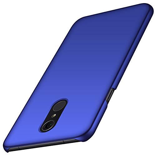 Avalri für LG Q7 Hülle, Superdünne Handyhülle Hardcase aus PC Stoß- & Kratzfest Kompatibel mit LG Q7/ Q7 Plus/ Q7 Alpha (Glattes Blau)