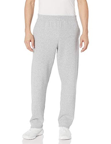 Fruit van de Loom heren Pocketed Open-Bottom Sweatpant
