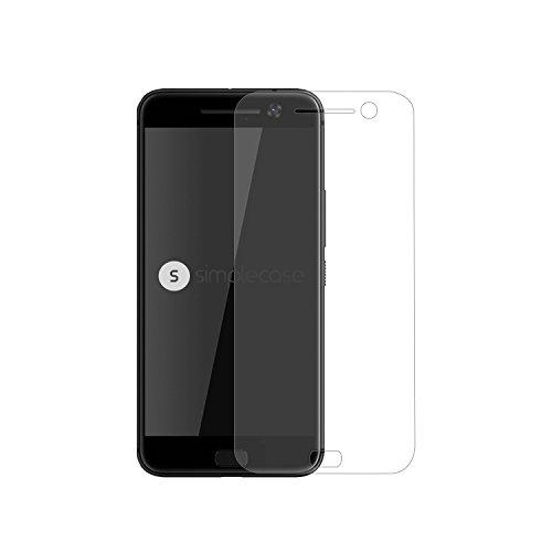 Simplecase Panzerglas passend zu HTC one M10 , Premium Bildschirmschutz , Schutz durch Extra Festigkeitgrad 9H , Hülle Friendly , Echtglas / Verb&glas / Panzerglasfolie , Transparent - 1 Stück