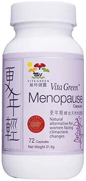 Vita Green Menopause Capsules for Effectively Relieving Hormone Menopausal Symptoms Skin Hair product image