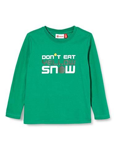Lego Wear Kinder-Unisex LWTAUPO - Langarmshirt T-Shirt, 831 Light Green, 152