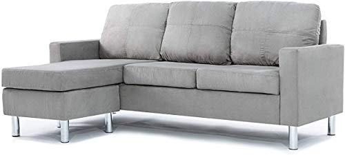 Fabric Sofa Bed Click Clack Modern Sleeper Sofa Settee with Cushions for Living Room/Guest Room