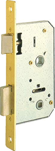 Ucem - Picaporte de embutir hierro latonado serie 6134c hl045