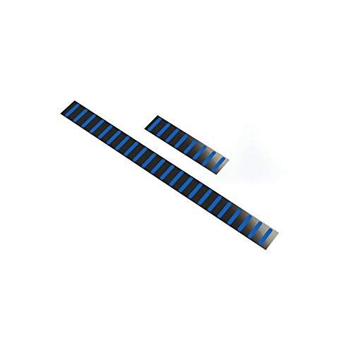 RRP ProGuard Front Stickers-Standard-Blue Mudguard Adult Unisex, Black, One Size