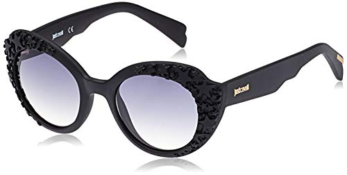 Just Cavalli JC830S-02B Gafas de sol, Matte Black/Degrade Grey, 50 para Mujer
