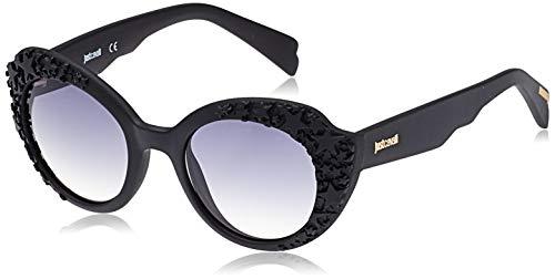 Just Cavalli JC830S-02B Gafas de sol, Matte Black/Degrade Grey, 50 para Mujer