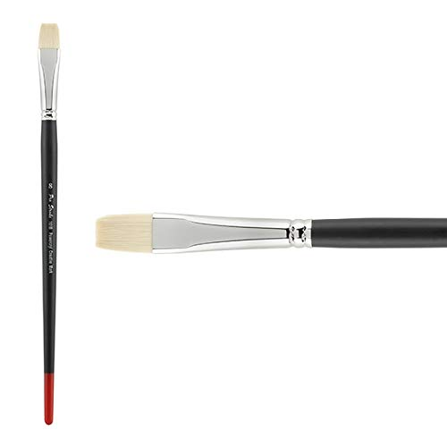 Creative Mark Pro Stroke Powercryl Paint Brush Professional Acrylic Brush with Synthetic Hair Filament Use with Acrylic Paint and Water Soluble Oils - Single Brush Only - Bright 8