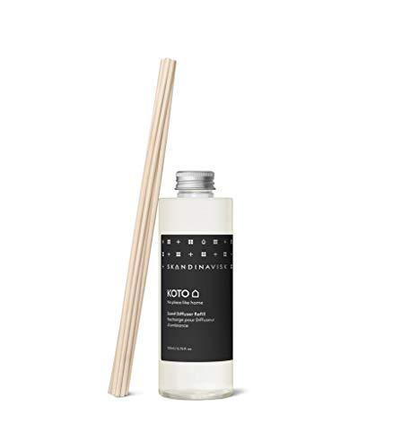 Skandinavisk Koto Reed Diffuser Refill: Vanilla and Orange Peel, Baltic Amber & Leather. 200 ml