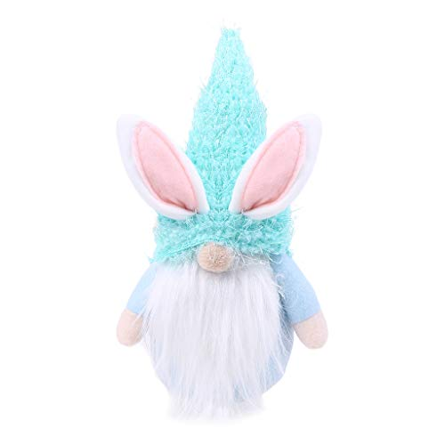 Selma. Easter Bunny Gnome Handmade Swedish Tomte Rabbit Plush Toys Doll Ornaments Holiday Home Party Decoration Kid Easter Gift for Girlfriend Valentine's Mother's Day Present