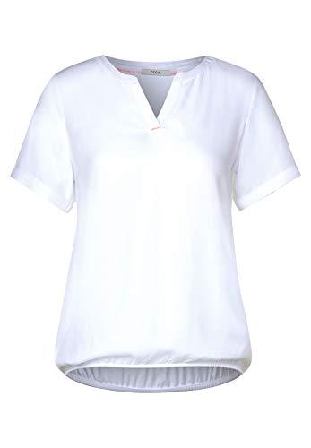 Cecil Damen 342038 Bluse, White, Small