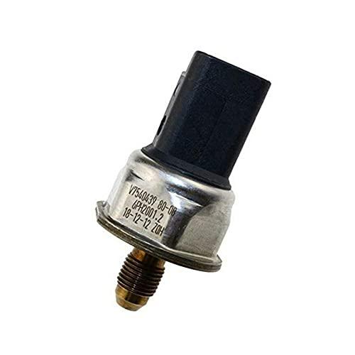 NERR YULUBAIHUO Sensor de presión de ferrocarril de Combustible Ajuste para BMW Mini Cooper S R55 R56 R57 R58 R59 Clubman Roadster 1.6 6PH2001.2 6PH2001 (Color : Black)