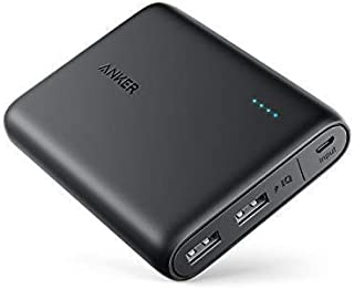 Anker PowerCore 13000 Portable Charger - Compact 13000mAh 2-Port Ultra Portable Phone Charger Power Bank with PowerIQ and VoltageBoost Technology for iPhone, iPad, Samsung Galaxy (Black)
