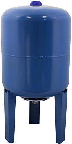 Duda Energy ExpTank-050VL-PW 50 L/13.2 gallon Blue Expansion Tank for Wells & Domestic Hot Water Supply Tank Thermal Pressure Protection