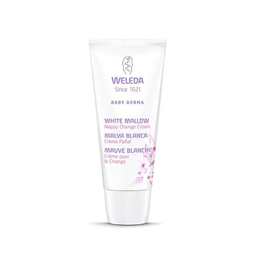 Crème pour le Change à la Mauve blanche - Weleda (50 ml) - Envoi avec: échantillon gratuit et une carte superbonita que vous pouvez utiliser comme marca-páginas