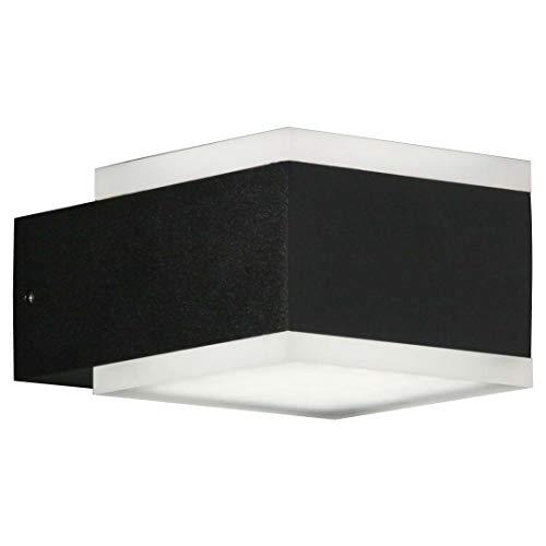 Böhmer 34128 4027007341284 - Lámpara de Pared para Exteriores (2 x 6 W, 3000 K, 2 x 500)