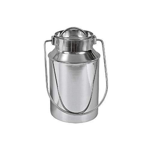 Karl Krüger 7710E Milchkanne 1,0 L aus Edelstahl/Milch Kanne