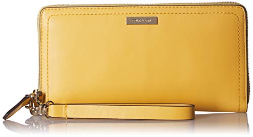 Cole Haan Lock Group Continental Wallet, Sunset Gold