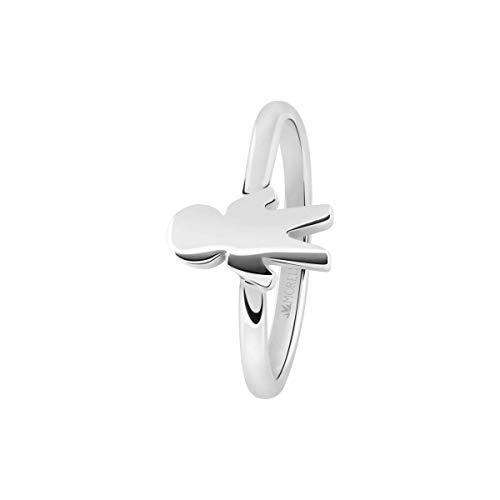 Morellato Anello da donna, Collezione Love Rings, in acciaio e cristalli - SNA44014