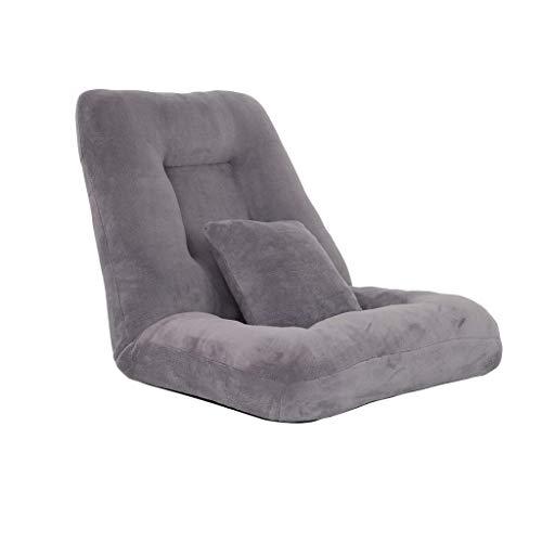 Spiel Bodenstuhl mit Verstellbarer Rückenlehne, vom Boden bis zur Decke Sofa mit Rückenstütze, for Home Office zu lesen und zu beobachten Video-Spiele (Color : B)