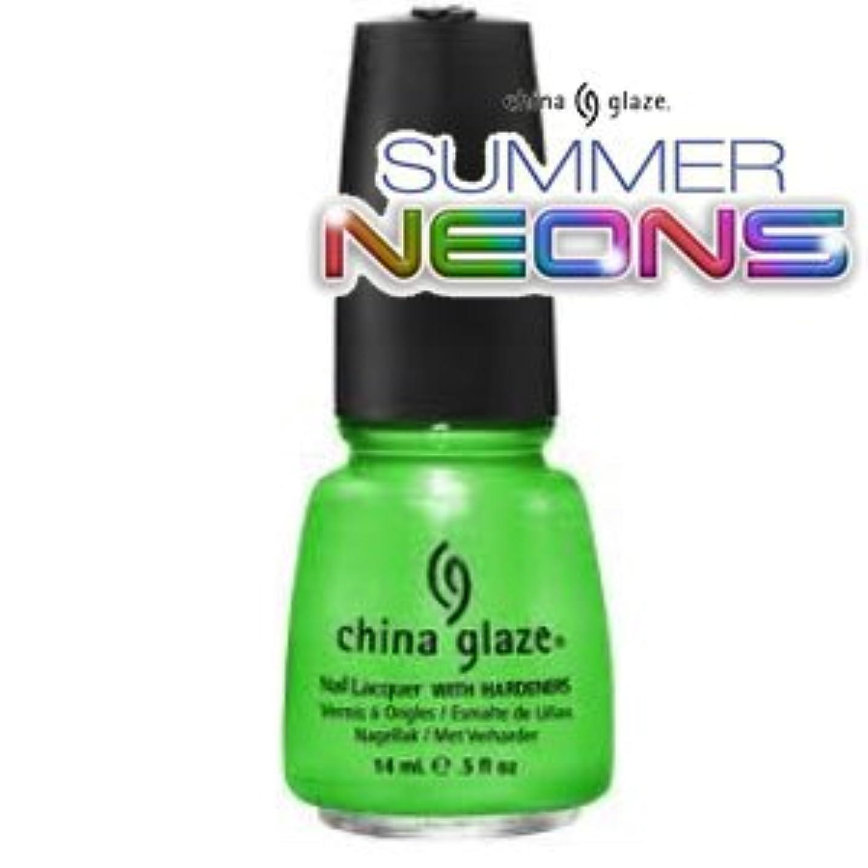 愛国的なビル商業の(チャイナグレイズ)China Glaze I'm With The Lifeguardーサマーネオン コレクション [海外直送品][並行輸入品]