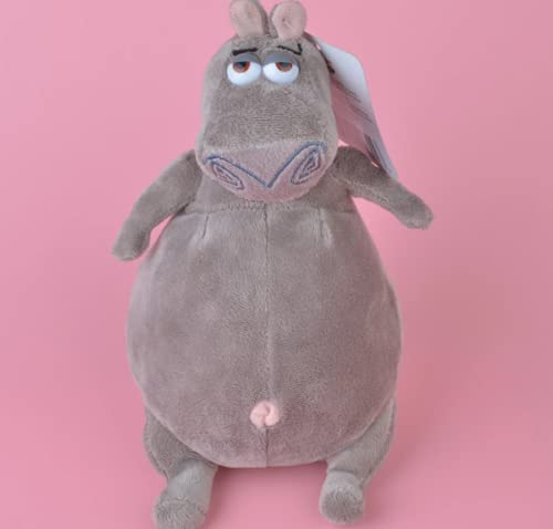 Lindo Juguete de Peluche Madagascar Gloria, Regalo de bebé hipopótamo, Regalos de cumpleaños de Navidad para niños de 10 cm