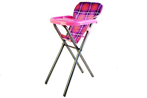 A to Z Dolls 33087 Chaise Haute Rose