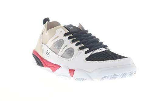 eS Skateboard Shoes Silo White/Black/Red Size 10.5