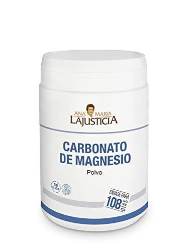 Ana Maria Lajusticia - Carbonato de magnesio – 130 gr. Disminuye el...