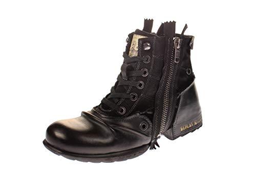 Replay Herren CLUTCH Biker Boots, Schwarz (BLACK 3), 40