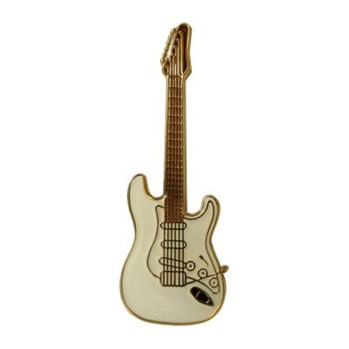 架空の買い手レイストラト ギター ミニピン 白 Electric Guitar Mini Pin