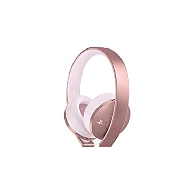 PlayStation Gold Wireless Headset Rose Gold – PlayStation 4