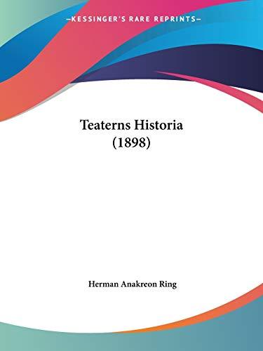 Teaterns Historia (1898)