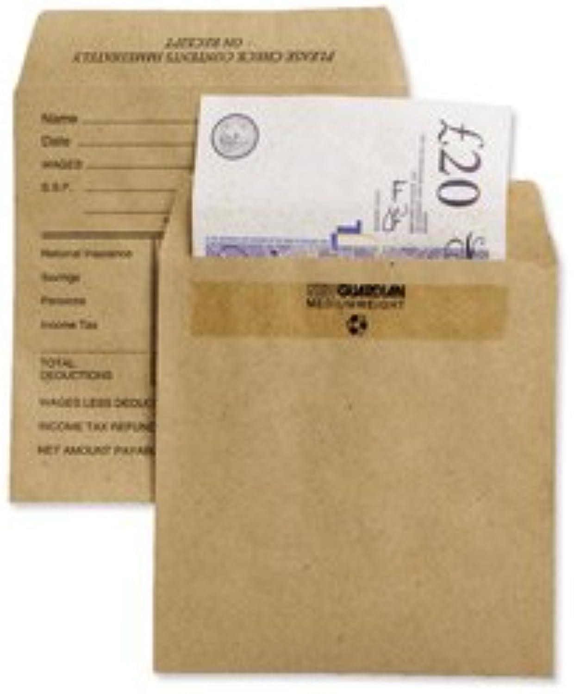 Marke Neu. New Guardian Geldumschläge Drücken Dichtung Medium Printed Pocket Manila 108 x 102 mm [Pack 1000] B004QNBH7W   Bunt,