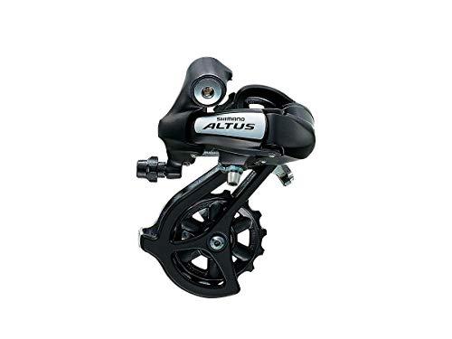 JKSPORTS ShimanoAltus Mountain Bike Rear Derailleur - Direct Mount RD-M310 Altus 7/8 Speed Black Direct Mount Rear DERAILLEUR (Black)