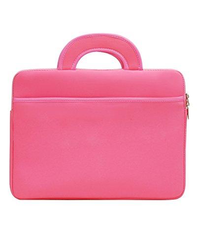 Wasserfeste Schutzhülle für Laptops / Ultrabooks Laptophülle Aktentasche Handtasche Tablet Sleeve Für Apple MacBook /ipad/ Samsung 13zoll Pink