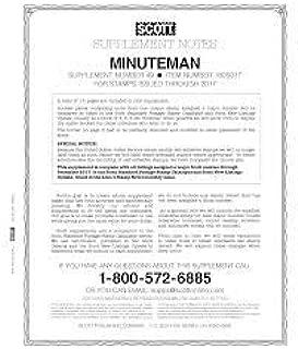 scott minuteman stamp album supplements