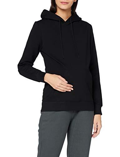 MAMALICIOUS Damen MLSOLVEI L/S Sweat TOP A. Sweatshirts, Black, M
