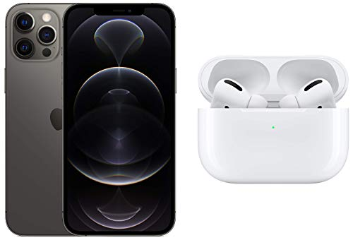 New Apple iPhone 12 Pro Max (512GB) – Graphite with Apple AirPods Pro