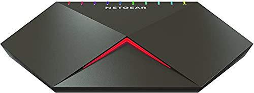 Netgear GS810EMX Nighthawk 10-Port GB/10G-Multi-Gig Smart Managed Plus Gaming-Switch S8000 (2x 10G/Multi-Gig-Ports, geringe Latenz für schnelles Streaming, Cool-Touch Gehäuse aus Zinklegierung)