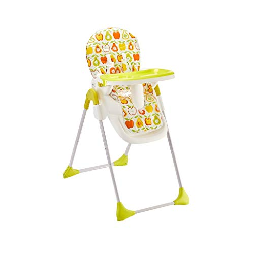 CML Baby Dining Chair Child Adjustable Portable Child Sitting Chair Multifunctional Baby Dining Table Adjustable Seat Orange Easy to Use (Color : Cyan)